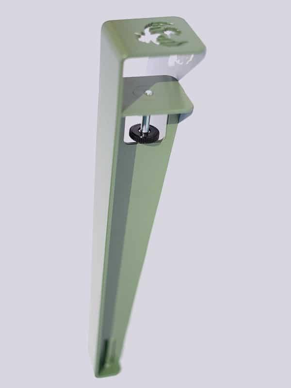 picioare de masa pupazan metal verde 2