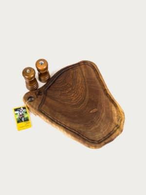 Fundulet din lemn de nuc L