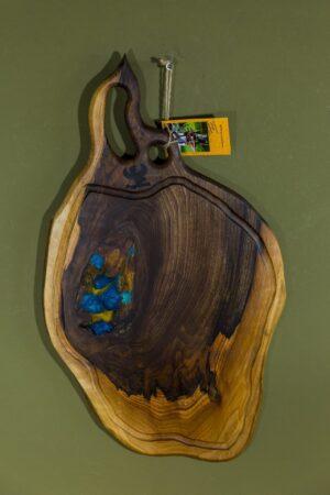 Fundulet din lemn de nuc L+